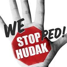hudak stopped